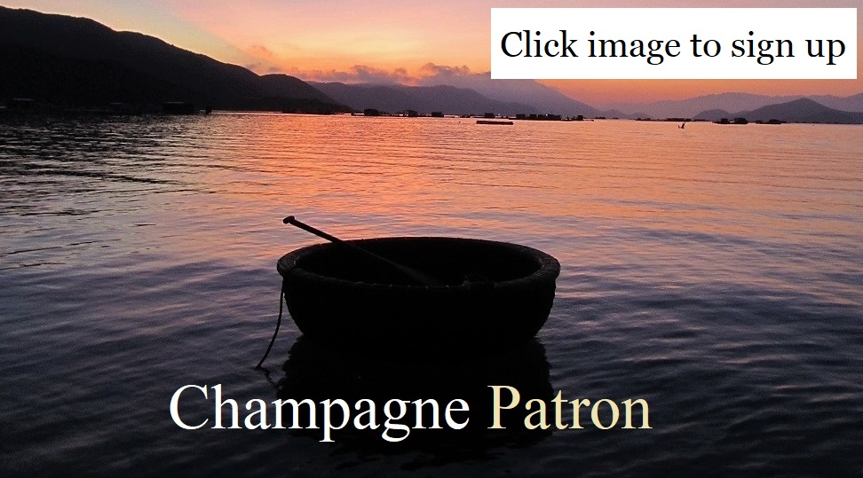 Become a Champagne Patron of Vietnam Coracle