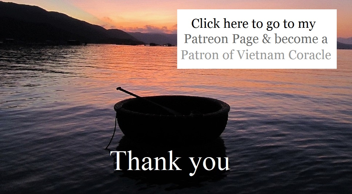 Become a Patron of Vietnam Coracle