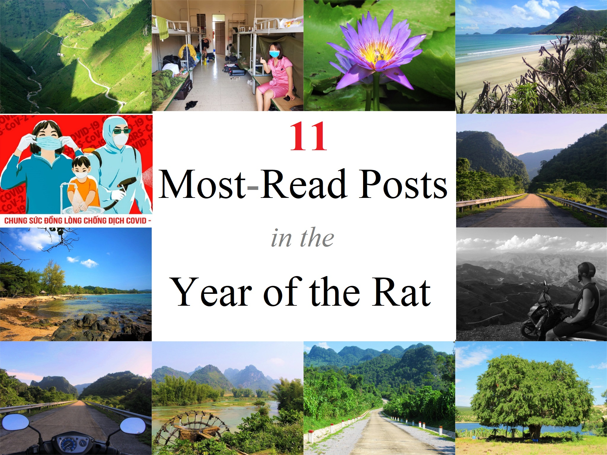 11 Most-Read Posts in the Year of the Rat, Vietnam Coracle, Travel Blog