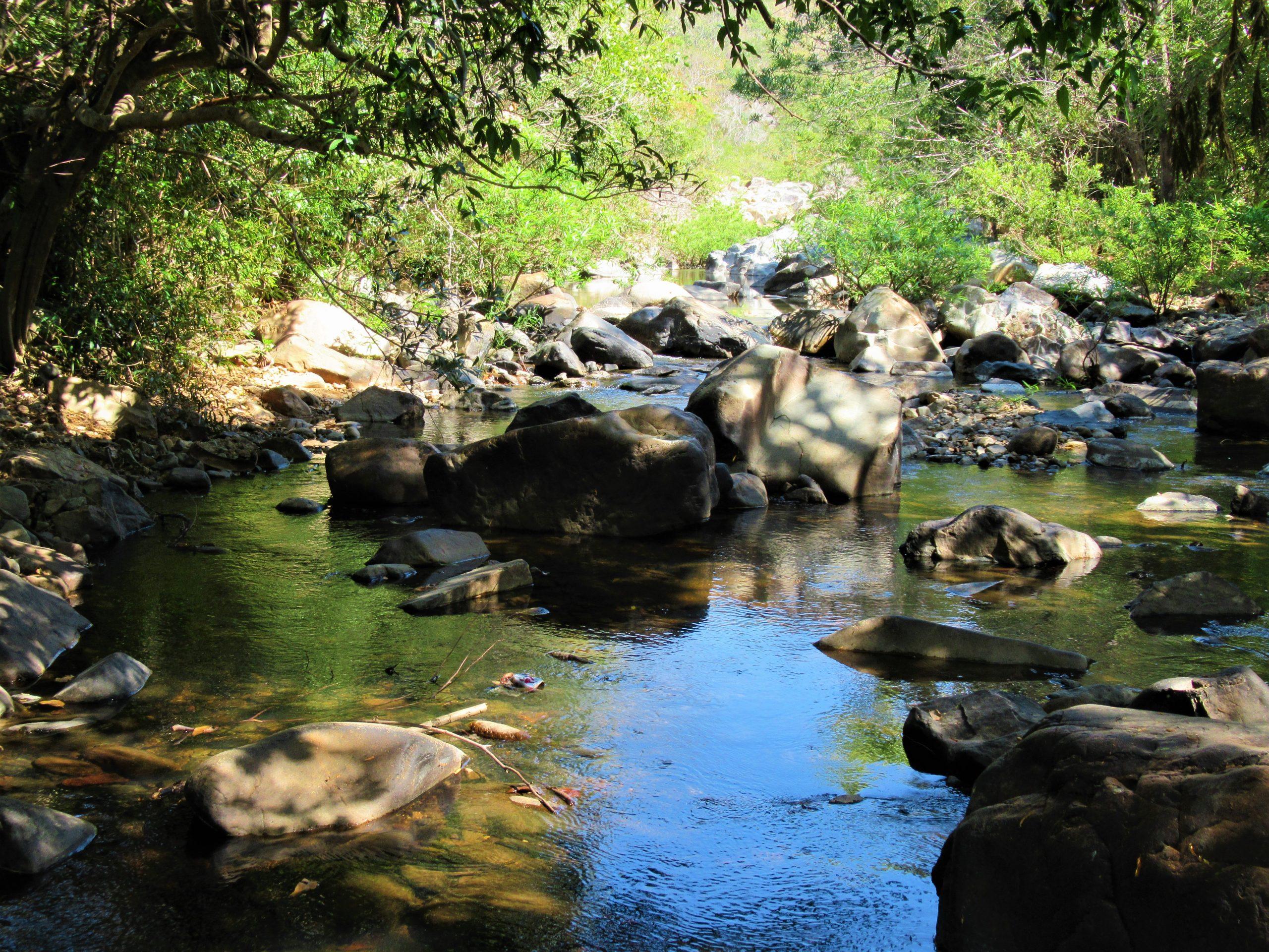 Camping on the Cho Mo River, Ninh Thuan Province, Vietnam