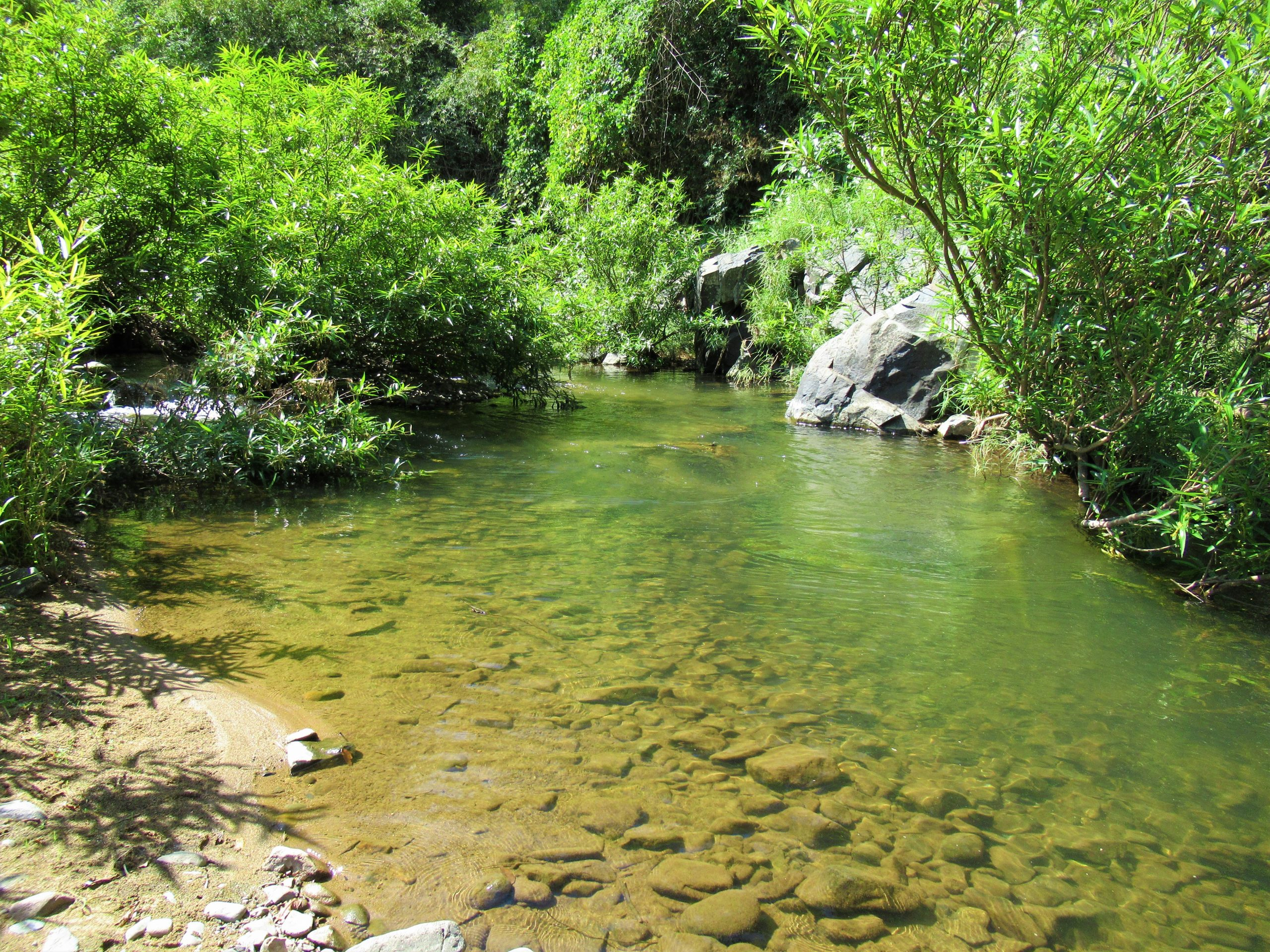 Camping on the Cai River tributaries, Ninh Thuan Province, Vietnam