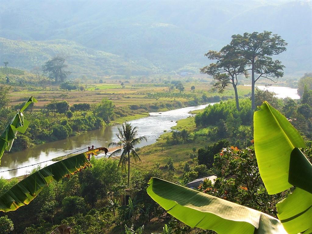 Camping on the Cai River, Ninh Thuan Province, Vietnam