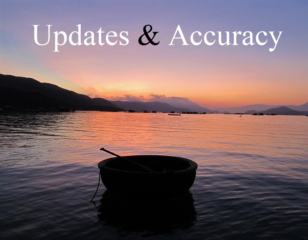 Updates & Accuracy Page, Vietnam Coracle