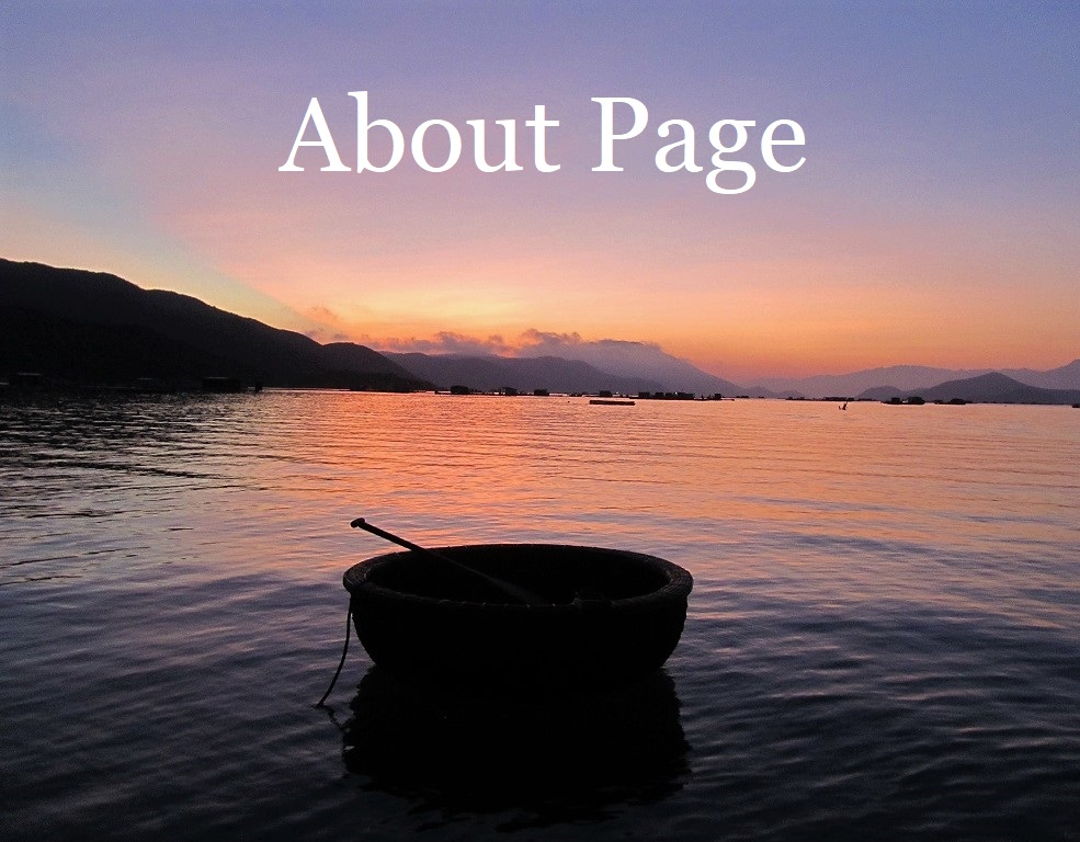 Vietnam Coracle, About Page