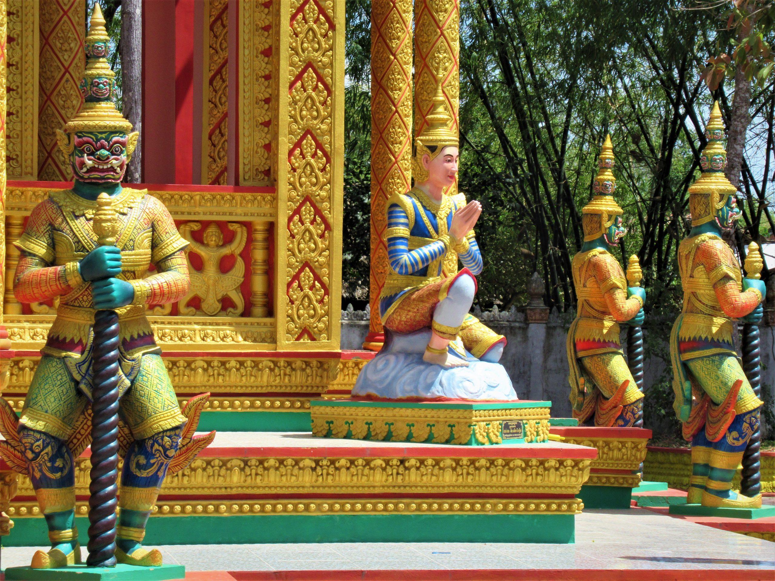 Khmer Temple-Hopping Motorbike Loop, Tra Vinh Province, Mekong Delta, Vietnam
