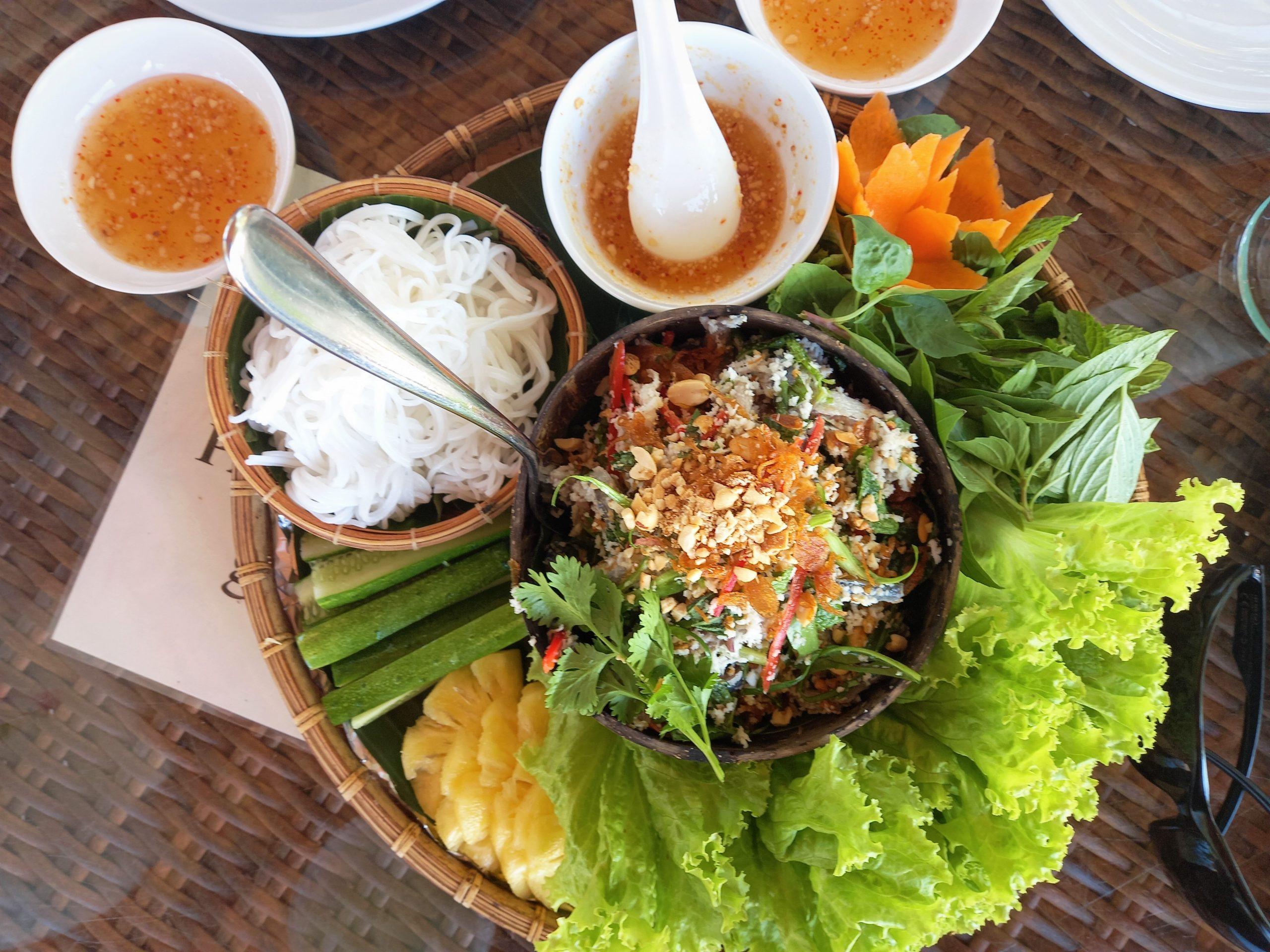 Herring salad at Gold Coast Resort, Phu Quoc Island, Vietnam