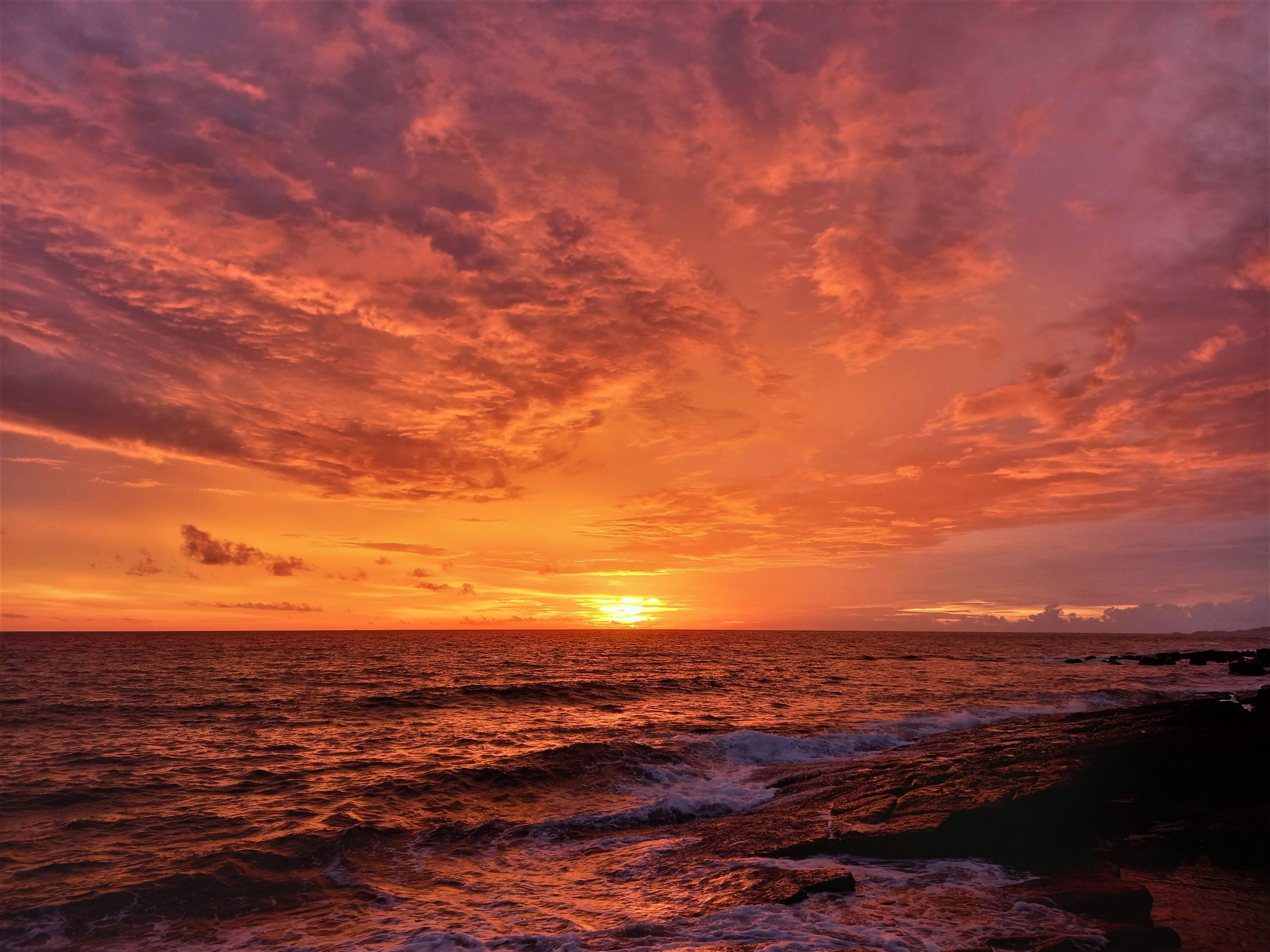 Ode to the Ocean, Sunset over the sea, Phu Quoc Island, Vietnam