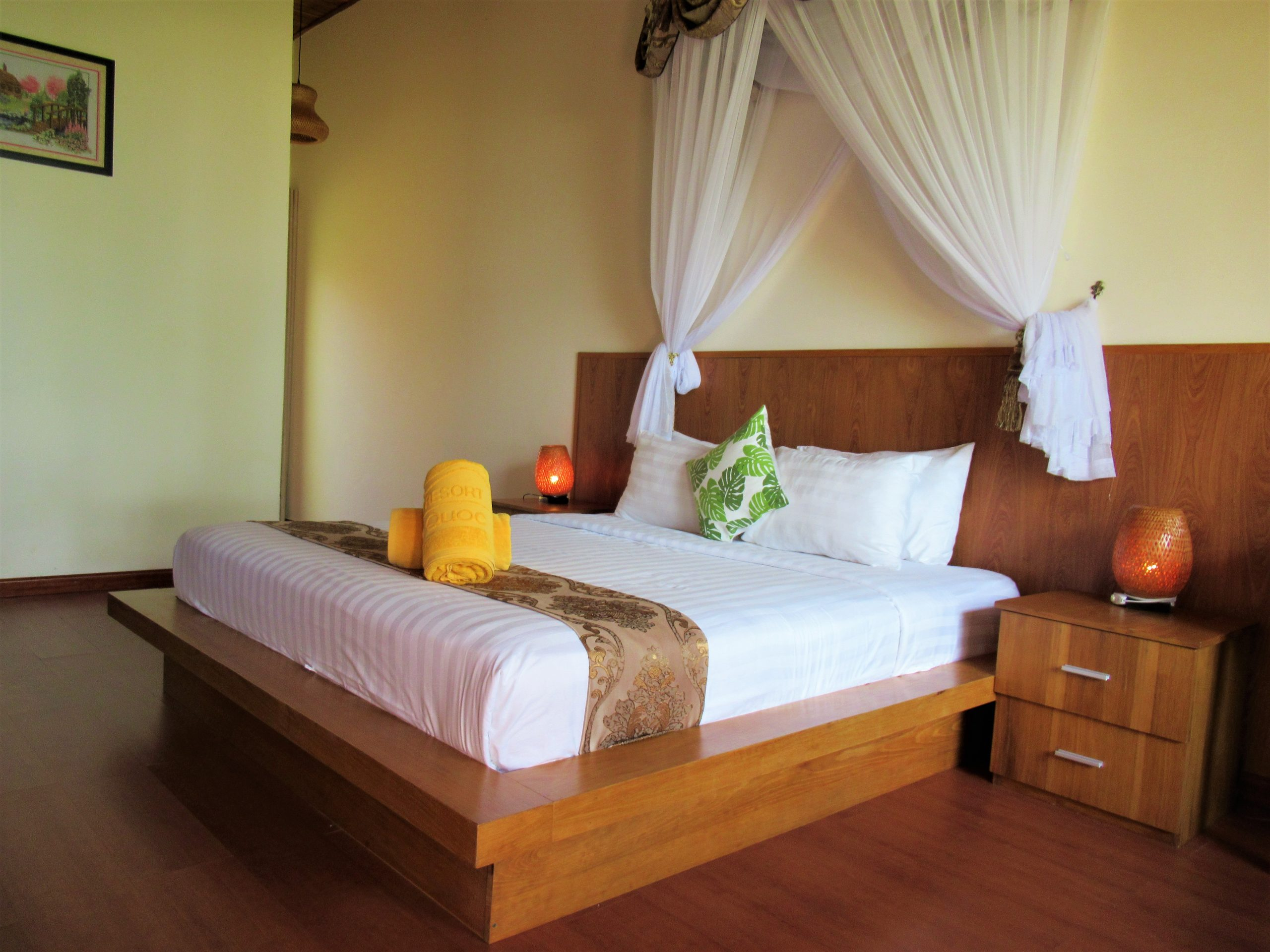 Beachfront guest room interior, Gold Coast Resort, Phu Quoc Island, Vietnam
