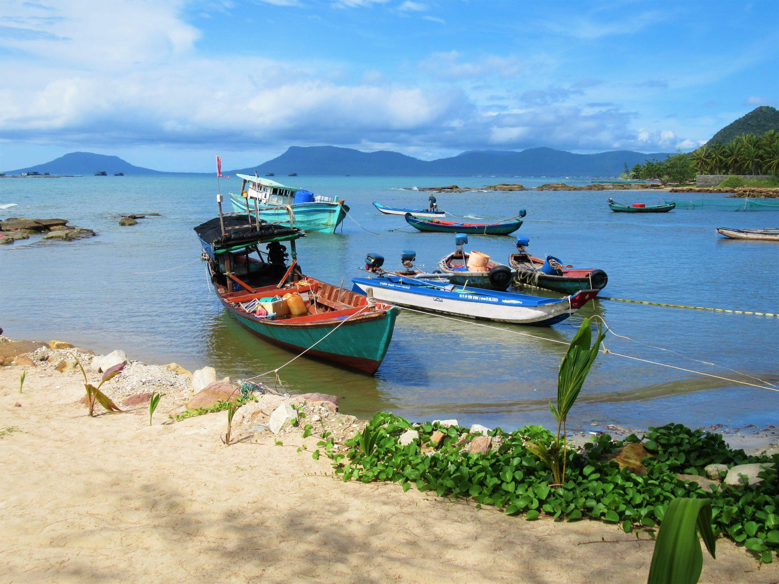 Small harbour, Gold Coast Resort, Phu Quoc Island, Vietnam