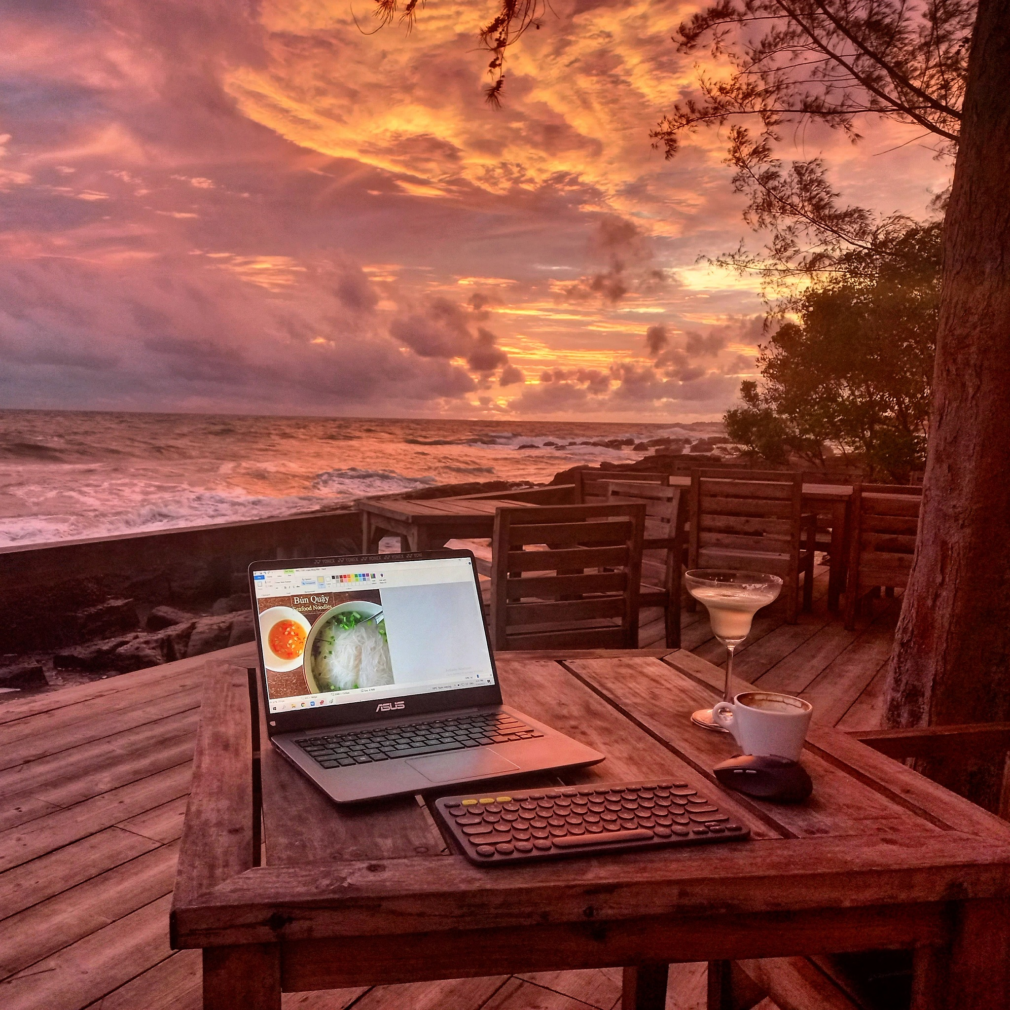 Celebrating to completion of the website redesign on Phu Quoc Island, Vietnam