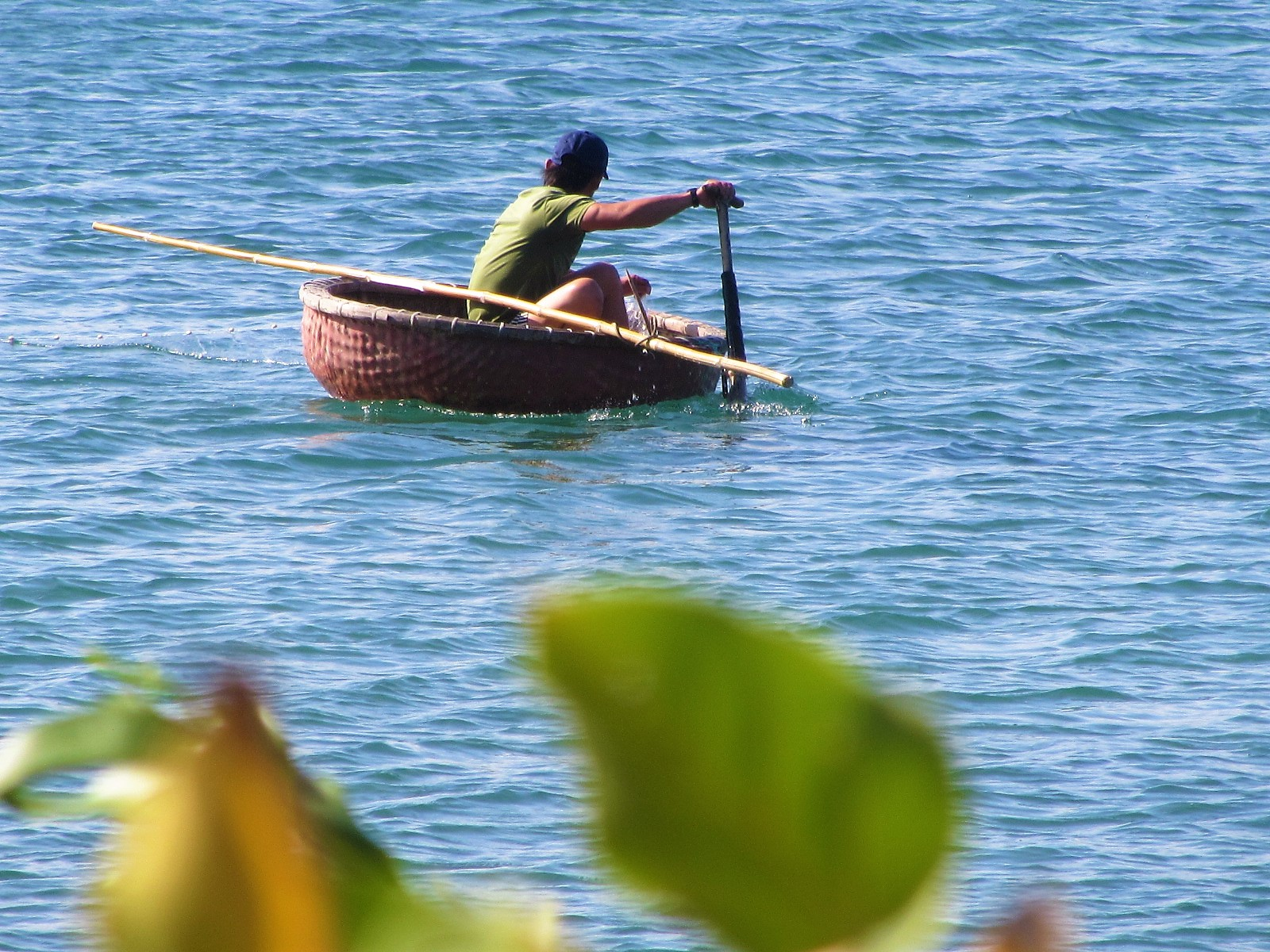 The eponymous 'coracle'