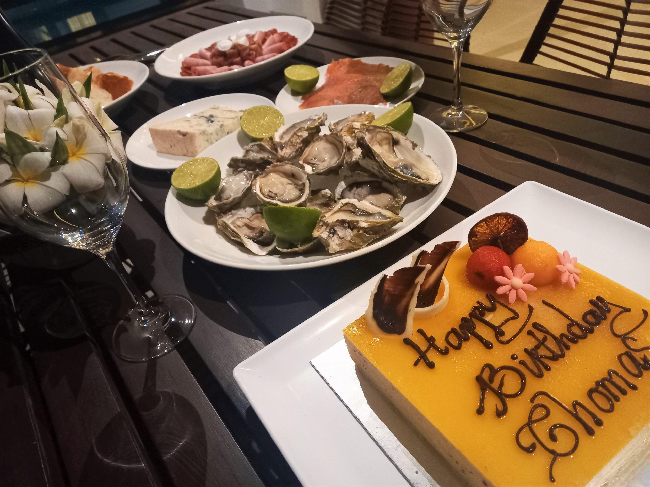 Birthday dinner at Premier Village Resort, Phu Quoc Island, Vietnam