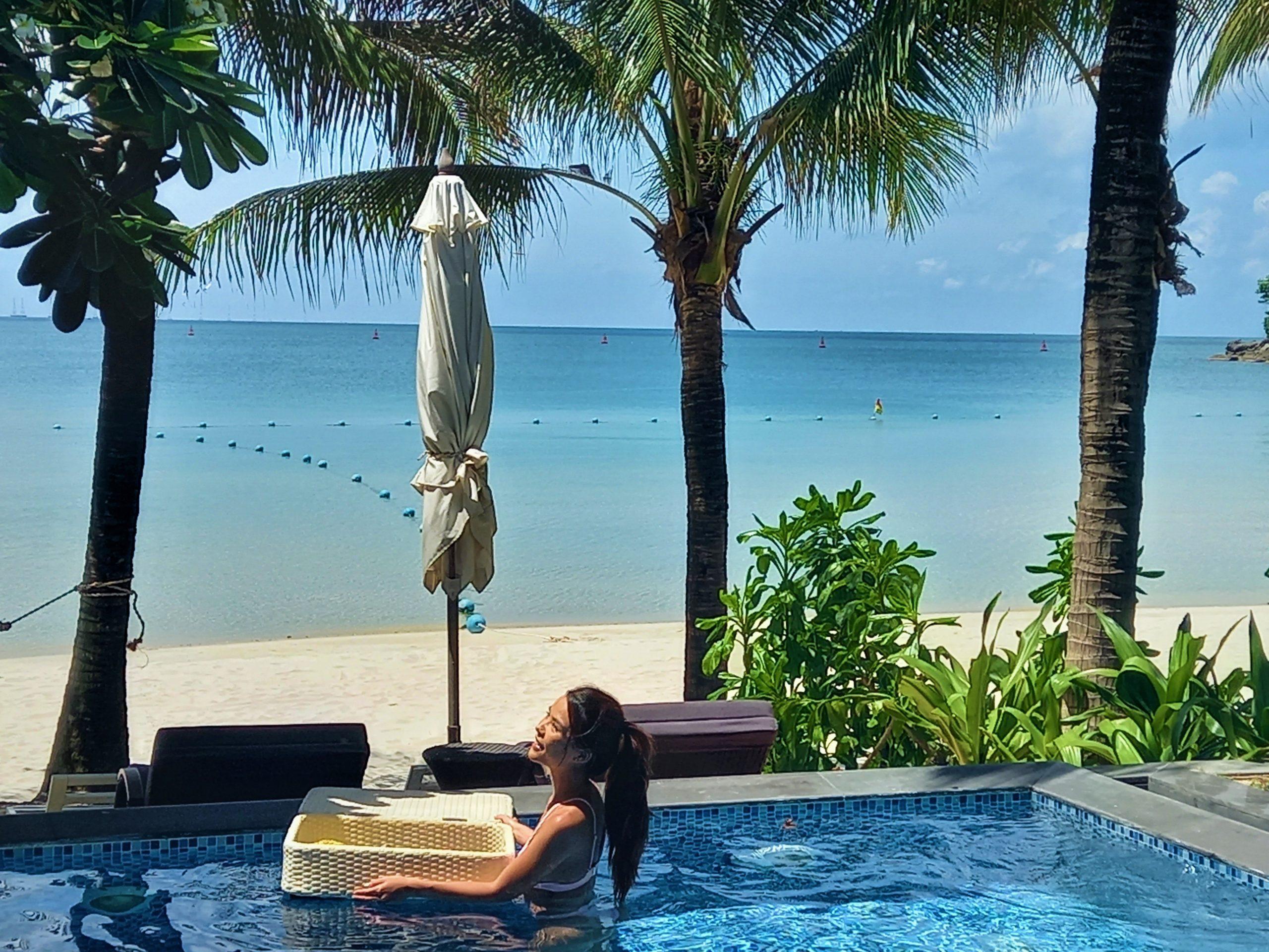 Floating basket meal, Premier Village Resort, Phu Quoc Island, Vietnam
