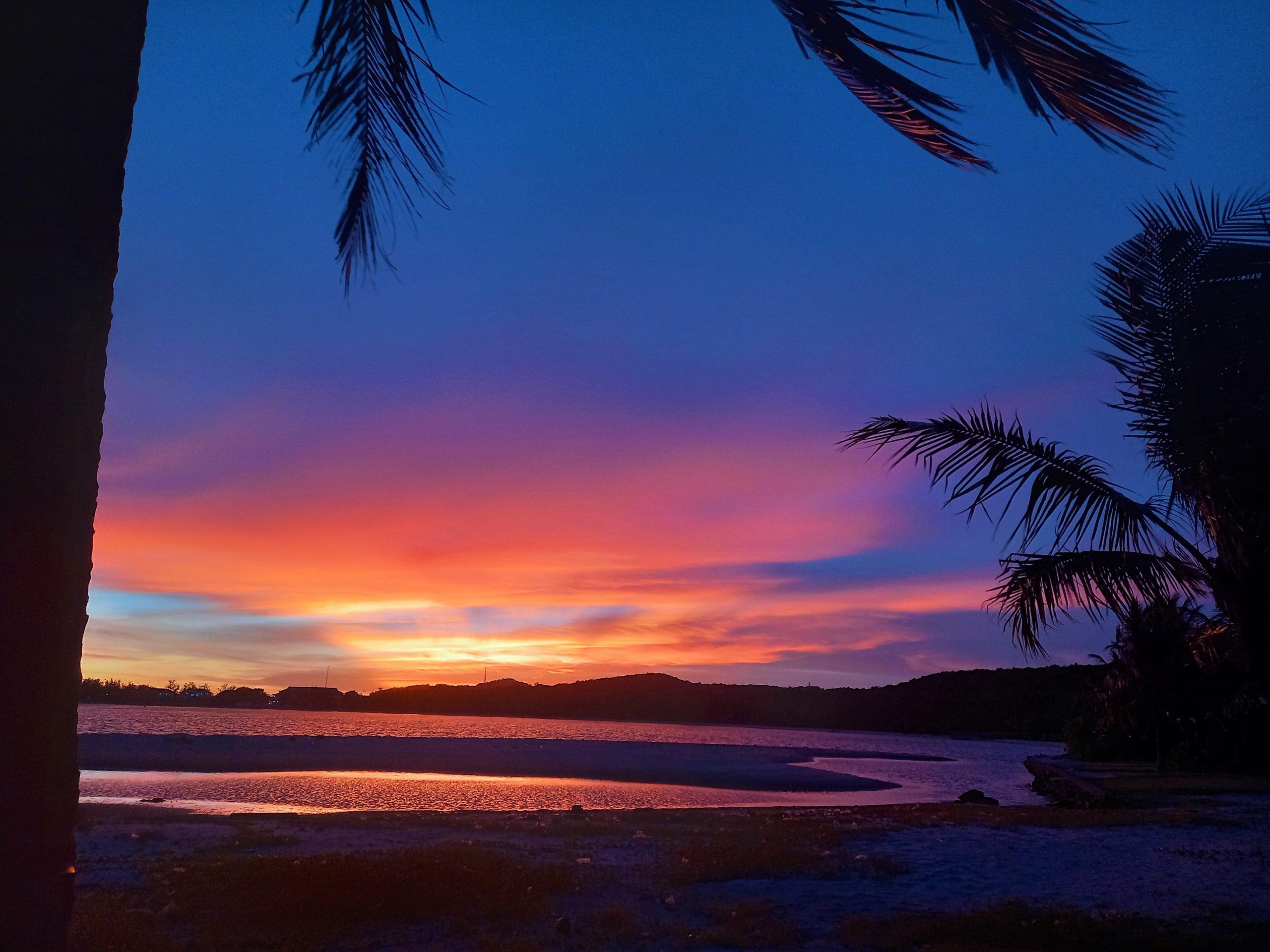 Sunset on west beach, Premier Village Resort, Phu Quoc Island, Vietnam