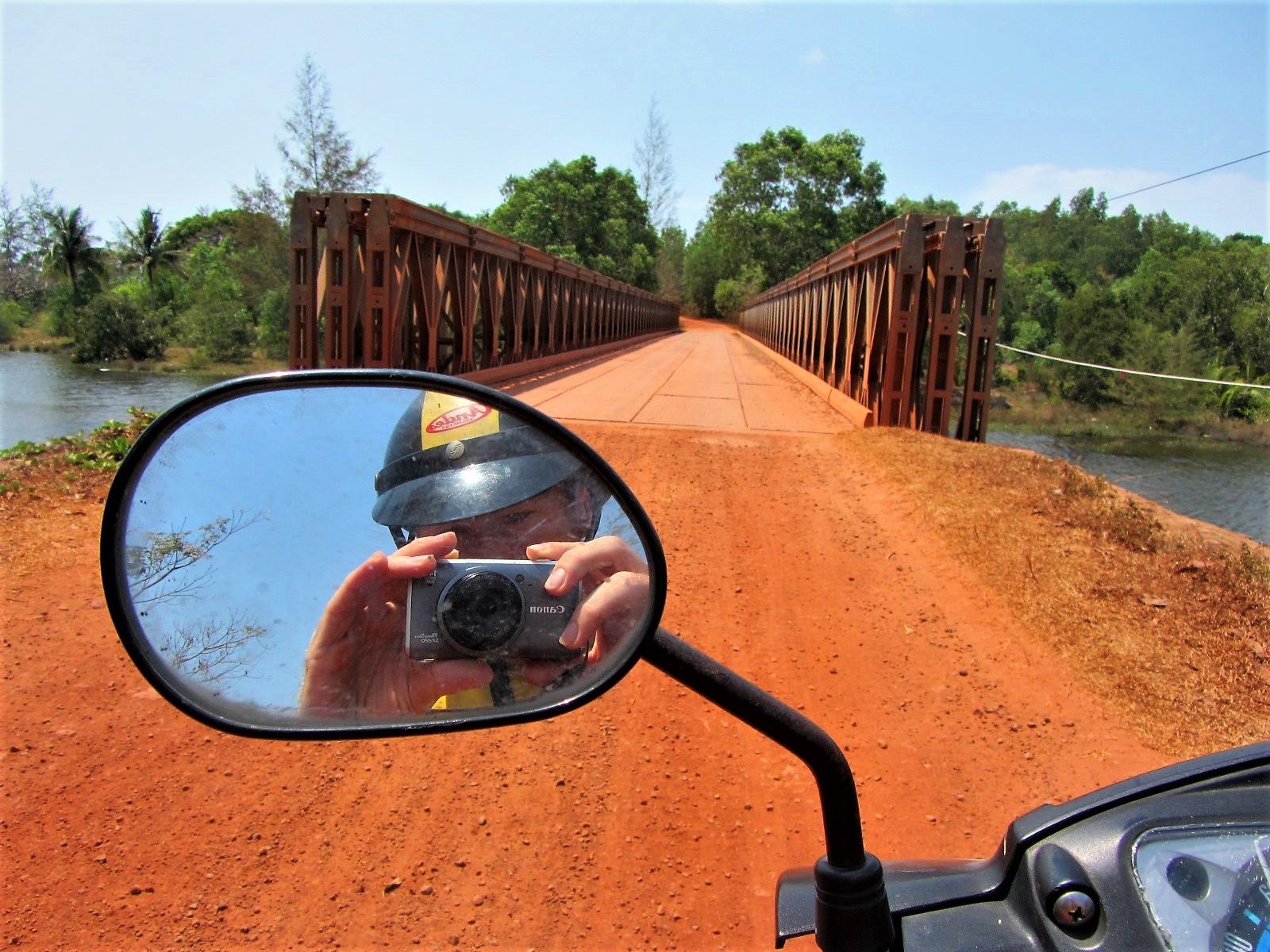 Red dirt roads on Phu Quoc Island, southwest coast