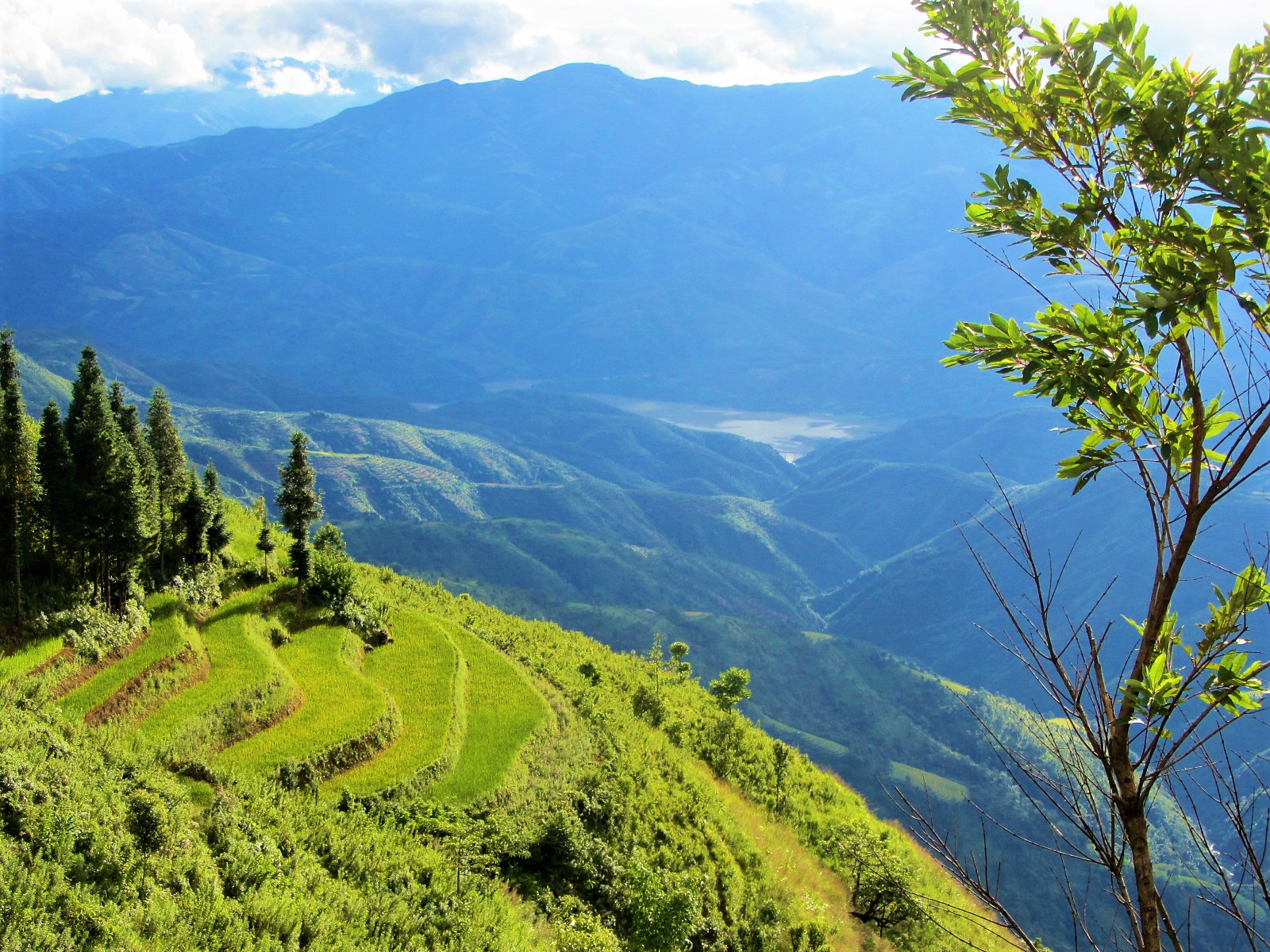 Majestic northern landscapes in spring weather, Vietnam
