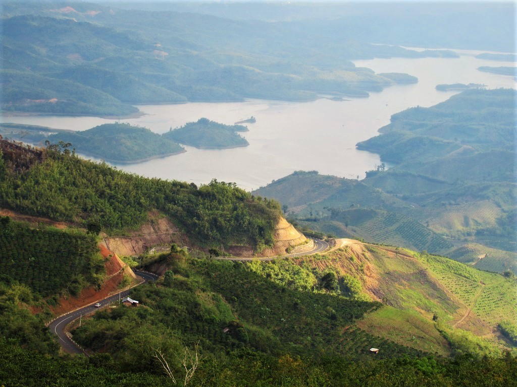Wonderful riding on the open roads of the Dak Nong Geopark Loop, Central Highlands