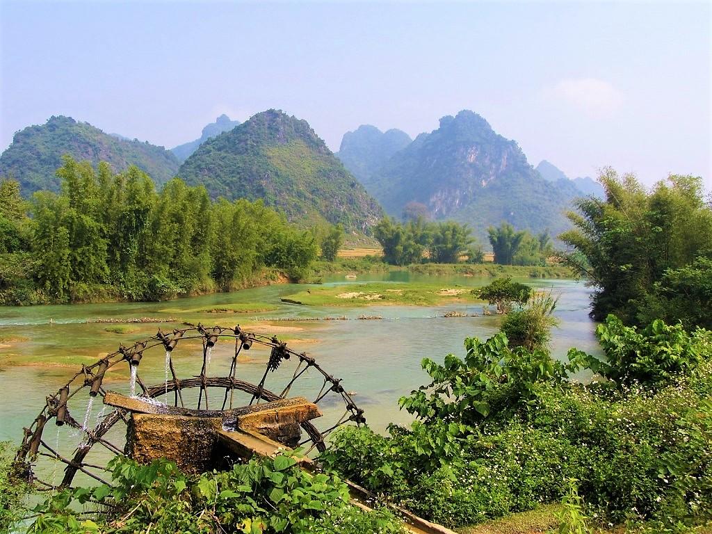 Scenery in the northeast of Vietnam