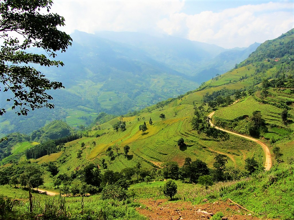 Into the mountains on the Borders & Back-Roads route between Sapa & Ha Giang, northern Vietnam