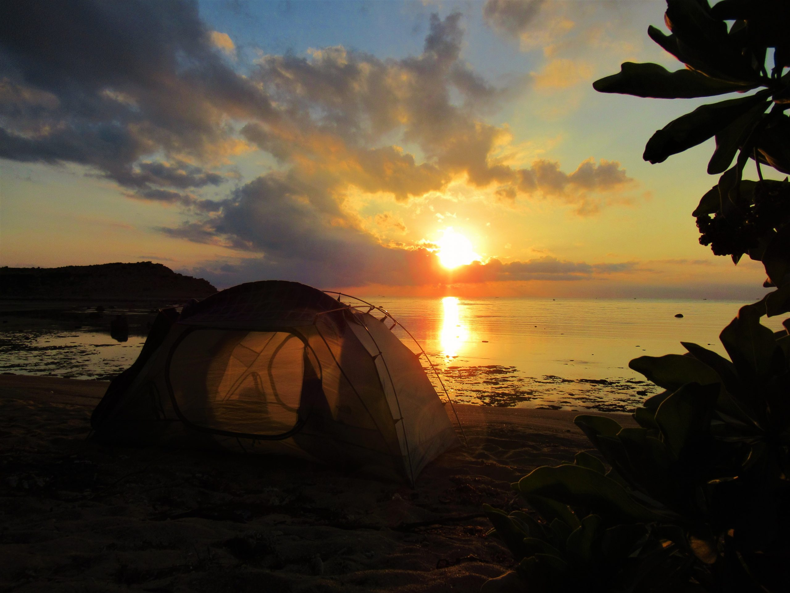 Camping in the Southern Dry Season, Vietnam