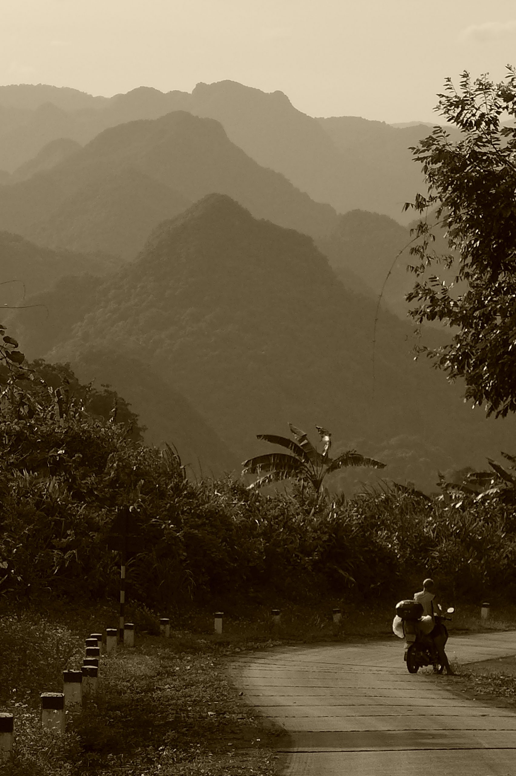 Dream-like: riding the Western Ho Chi Minh Road, Central Vietnam