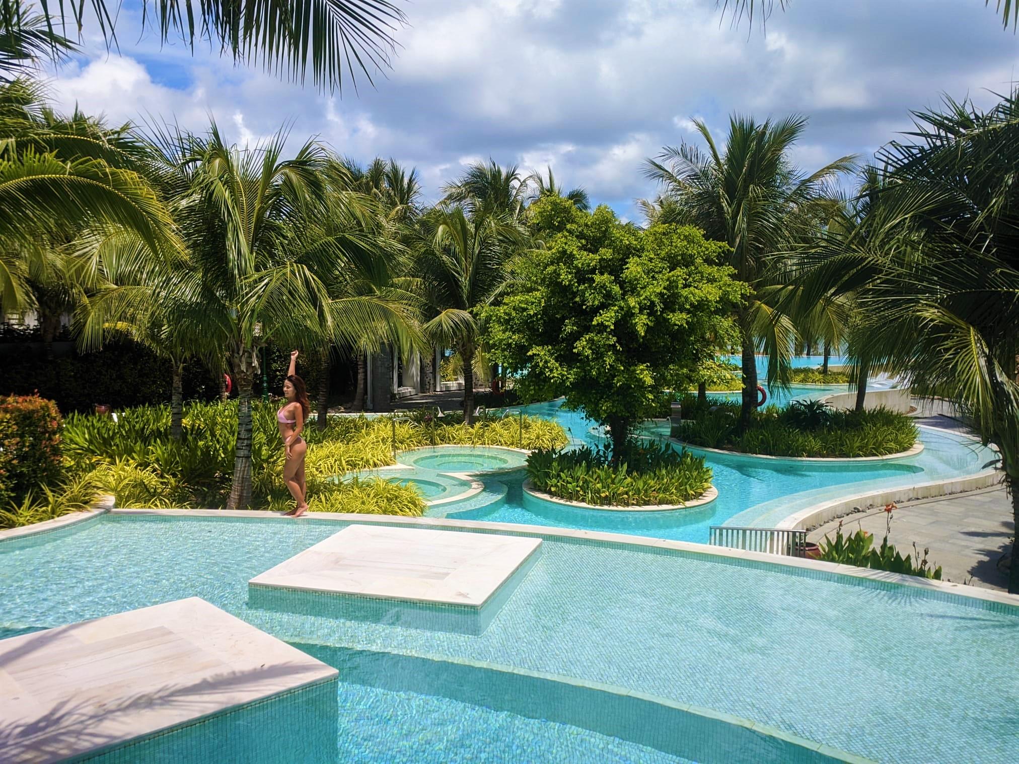 Swimming pool at Premier Village Resort, Phu Quoc Island, Vietnam